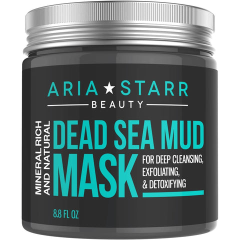 Dead Sea Mud Mask For Face, Acne, Oily Skin & Blackheads - the cozzee project