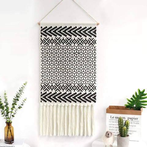 Dremisland Macrame Woven Wall Hanging Tapestry - the cozzee project