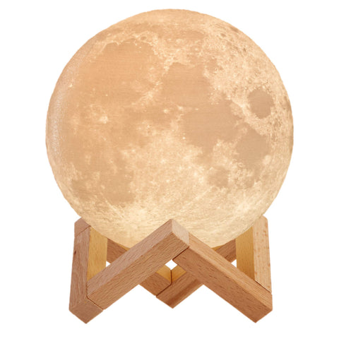 3D Moon Lamp - the cozzee project