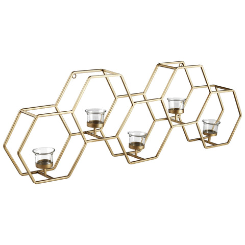 Rivet Honeycomb Tealight Candle Holder - the cozzee project