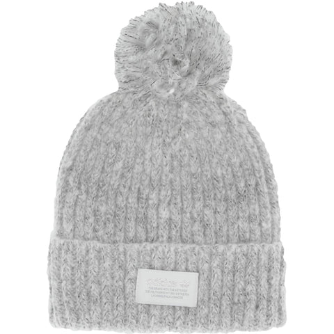 adidas Originals Women's Nova II Beanie | Light Grey Heather - the cozzee project