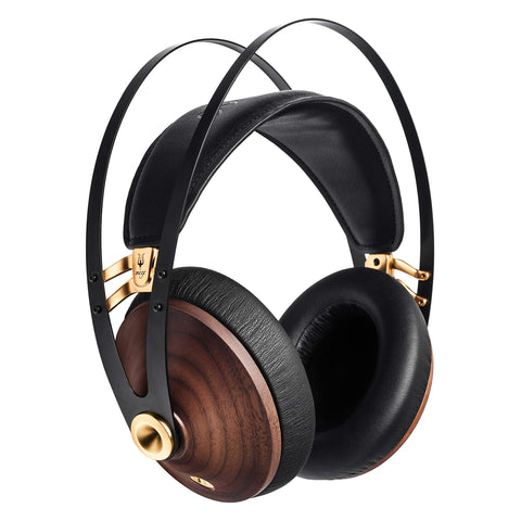 Classic Walnut Gold Headphones - the cozzee project
