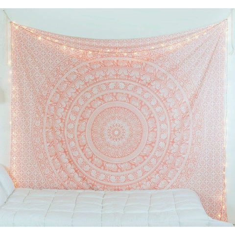 Hippie Mandala Ombre Tapestry - the cozzee project