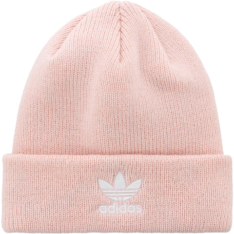 adidas Originals Women's Trefoil Beanie | Icey Pink/White - the cozzee project