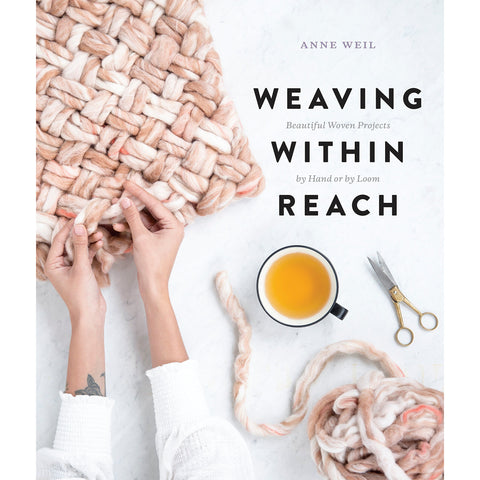 Weaving Within Reach: Beautiful Woven Projects by Hand or by Loom - the cozzee project