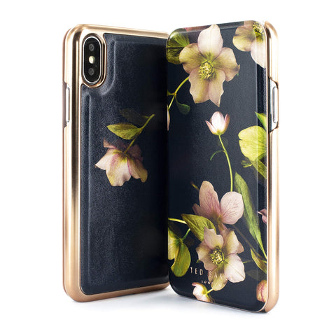 Ted Baker Arboretum Mirror Folio Case for iPhone | Xs Max - the cozzee project