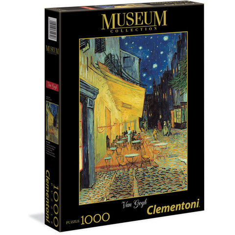 Van Gogh Cafe Terrace At Night Jigsaw Puzzles | 1000 Pieces - the cozzee project