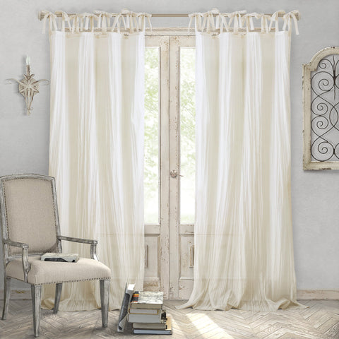 Semi-Sheer Curtains - the cozzee project