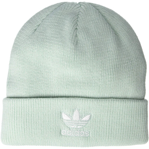 adidas Originals Women's Trefoil Beanie | Vapour Green/White - the cozzee project