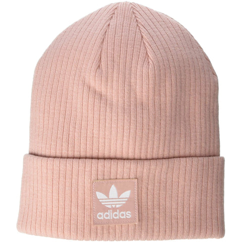 adidas Originals Women's Rib II Beanie | Pink Spirit/White - the cozzee project