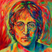 Load image into Gallery viewer, John Lennon Colors Diamond Painting Kit - DIY