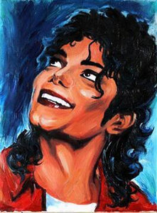 Michael Jackson Old Diamond Painting Kit - DIY