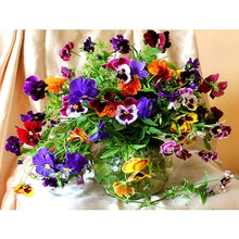 Load image into Gallery viewer, Colorful Flowers and Vases Diamond Painting Kit - DIY