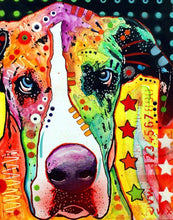 Load image into Gallery viewer, Great Dane Colors Diamond Painting Kit - DIY