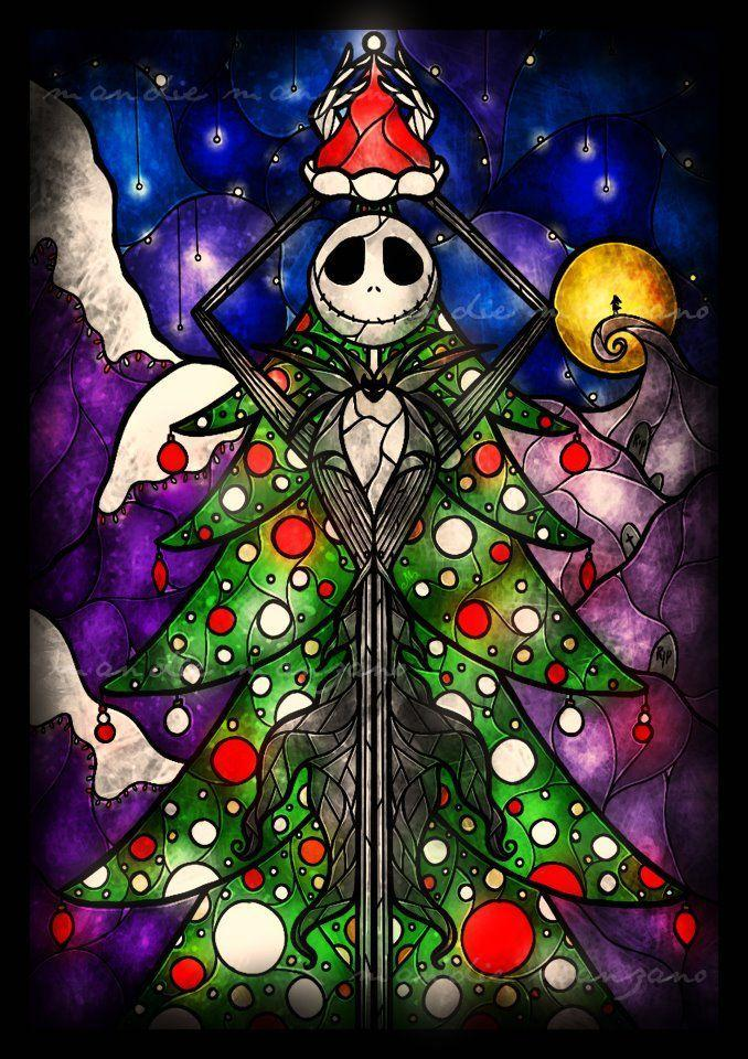 Nightmare Before Christmas Tree Diamond Painting Kit - DIY