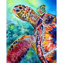 Load image into Gallery viewer, Turtle Diamond Painting Kit - DIY