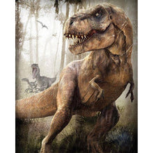 Load image into Gallery viewer, Animal Dinosaurs Diamond Painting Kit - DIY