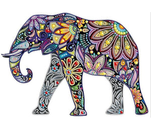 Special Shaped Elephant Diamond Painting Kit - DIY
