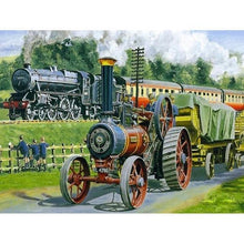 Load image into Gallery viewer, See Train Diamond Painting Kit - DIY