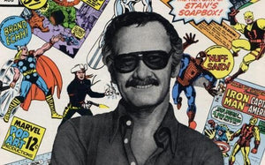 Stan Lee And superhero Diamond Painting Kit - DIY