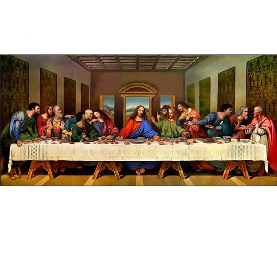 The Last Supper Diamond Painting Kit - DIY