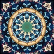 Load image into Gallery viewer, Mandala Blue And Green Diamond Painting Kit - DIY