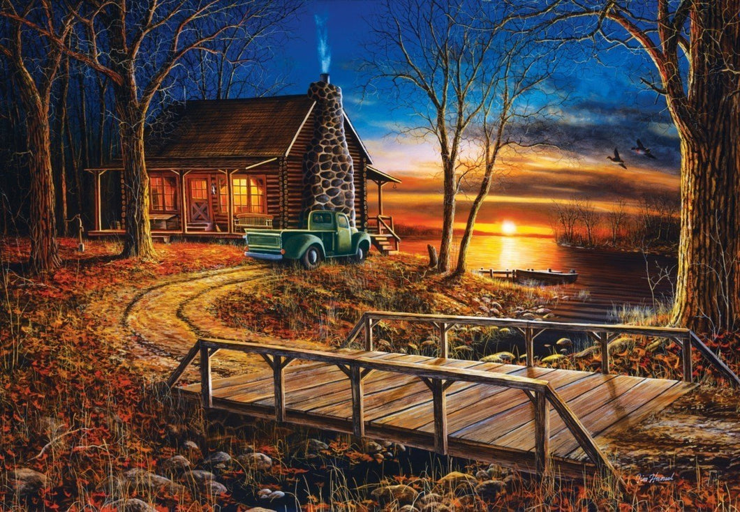 Cabin Cart Diamond Painting Kit - DIY