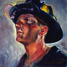 Load image into Gallery viewer, 5d Fireman Firefighter Diamond Painting Kit Premium-12