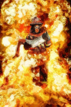 Load image into Gallery viewer, 5d Fireman Firefighter Diamond Painting Kit Premium-20