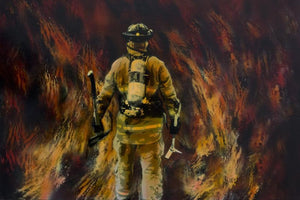 5d Fireman Firefighter Diamond Painting Kit Premium-25