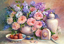 Load image into Gallery viewer, Flower Diamond Painting Kit - DIY Flower-12