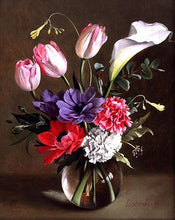 Load image into Gallery viewer, Flower Diamond Painting Kit - DIY Flower-36