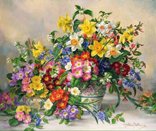Load image into Gallery viewer, Flower Diamond Painting Kit - DIY Flower-49