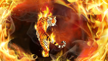 Load image into Gallery viewer, Tiger Fire Diamond Painting Kit - DIY