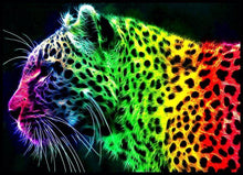 Load image into Gallery viewer, Jaguar Colors Diamond Painting Kit - DIY