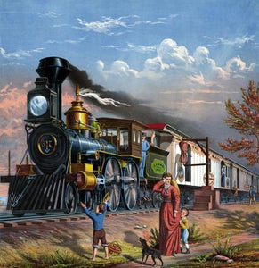 Happiness Train Diamond Painting Kit - DIY