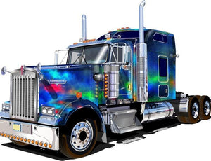 Truck, Lorry, Van Diamond Painting Kit - DIY