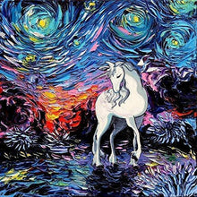Load image into Gallery viewer, Unicorn Diamond Painting Kit - DIY Unicorn-13