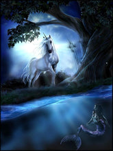 Load image into Gallery viewer, Unicorn Diamond Painting Kit - DIY Unicorn-25