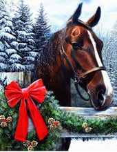 Load image into Gallery viewer, Horse Gift Diamond Painting Kit - DIY
