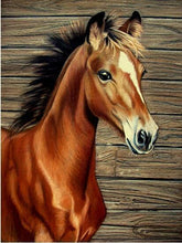 Load image into Gallery viewer, Horse Little Diamond Painting Kit - DIY