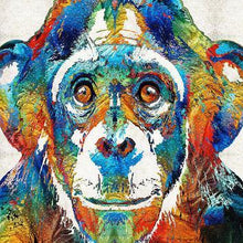 Load image into Gallery viewer, Chimp Colors Diamond Painting Kit - DIY