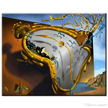 Load image into Gallery viewer, Salvador Dali Clock Diamond Painting Kit - DIY