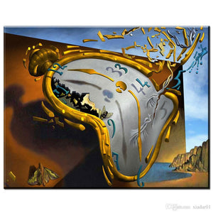 Salvador Dali Clock Diamond Painting Kit - DIY