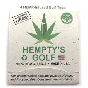 Hemp Golf Tees - Hempty's