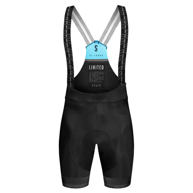 GOBIK Bib Short Limited K10 Black Hombre - THE GANG ESSENTIALS
