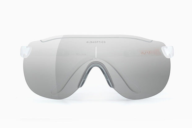 Lente Para Ciclismo Alba Optics Stratos Snow Alu