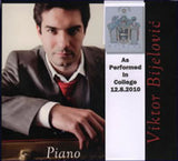 Piano a CD by Viktor Bijelovic