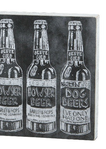 Beer Chalk Sign