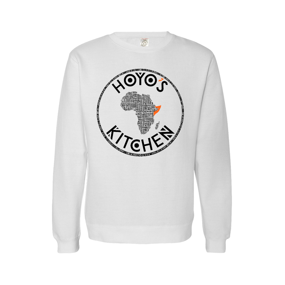 Hoyo's Kitchen WHITE Crewneck Sweatshirt